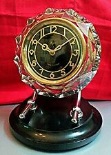 Vintage Collectible MAYAK USSR Shelf Crystal МАЯК Mantel Clock MAJAK