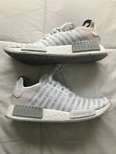 adidas nmd r1 whiteout three stripes new sz us 9.5