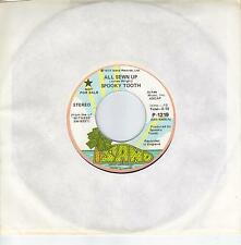 SPOOKY TOOTH  All Sewn Up  rare promo 45 from 1973