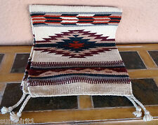 Southwestern Table Runner 33-16X80 Hand Woven Southwest Wool Geometric Design