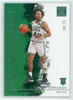 2019-20 CARSEN EDWARDS 18/75 PANINI IMPECCABLE ROOKIE RC#5
