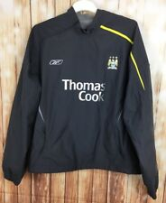 REEBOK MANCHESTER CITY FOOTBALL LIGHTWEIGHT TRAINING TOP JERSEY SHIRT JACKET XL