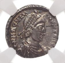 Magnus Maximus. AD 383-388. AR Siliqua, Trier, NGC Ch AU