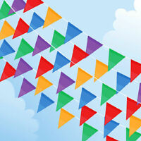 33 Feet 20 Flags Multi Colour Banner Bunting Party Event Home Garden Decoration