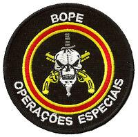 Écusson patche BOPE Brésil forces spéciales patch badge brodé thermocollant