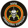 Écusson patche BOPE Brésil forces spéciales patch badge brodé thermocollant
