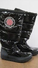 NEW Steve Madden Madden Girl Tall Snow Boots Igloo Puffer Style Black Size 7