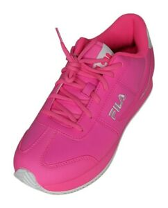 FILA Province Women's Sz 10 M Athletic Sneaker Faux Leather Pink Shoes 712258