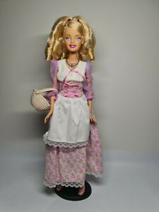 Mattel Barbie Princess Collection Barbie as Cinderella in Country Dress RARE