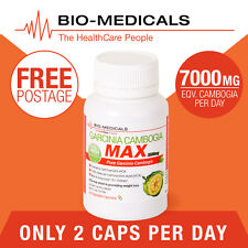 TGA LISTED 1 X 60 CAP PURE GARCINIA CAMBOGIA MAX! SUPER STRENGTH