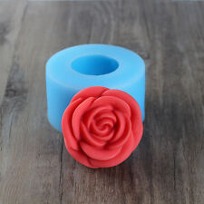 3D Rose Flower Jelly Pudding Molds Resin Crafts Mould Silicone Soap Candle Tools