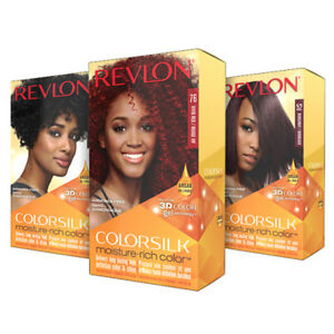 REVLON COLORSILK MOISTURE-RICH COLOR PERMANENT HAIR DYE