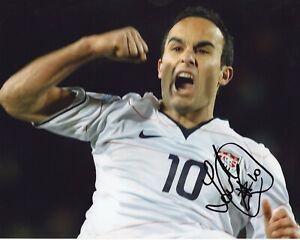 Landon Donovan - International Football, Soccer - Autographed 8x10 Photo