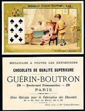 Chromo Guérin-Boutron - Jeu de Cartes - Huit de Pique