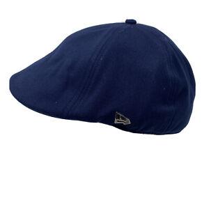 New Era GOLDEN STATE WARRIORS Flat Cap Blue  Sz Large Hat Cap Embroidered NBA