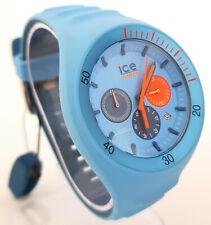Ice-Watch 014949 P. Leclercq L Ø 46 mm Herren Uhr Chronograph Chrono hellblau 75