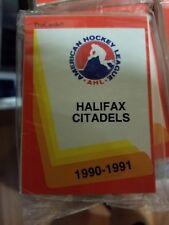 1990-91 Pro Cards AHL Halifax Citadels Hockey Team Set Sealed