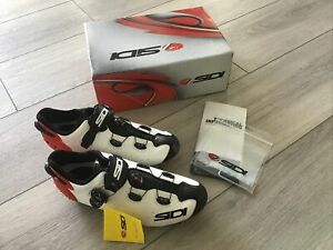 New SIDI Scarpe MTB Drako 2 Carbon Cycling Shoes (Size 43)