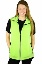 Fleece Vest for Women With Zippered Pockets