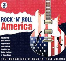 ROCK N' ROLL AMERICA .. 75 ORIGINAL HITS .. 3 CD'S .. 1950'S-62 VARIOUS OLDIES