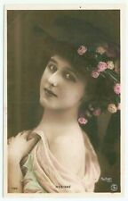 Vintage Gabrielle Robinne French Theater Stage & Film Actress Photo Postcard