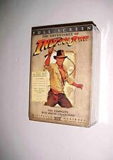 The Adventures of Indiana Jones The Complete DVD Movie Collection 4-Disc Set New