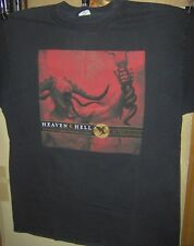 BLACK SABBATH HEAVEN & HELL T-Shirt Size LARGE Pre Worn DIO IOMMI BUTLER APPICE