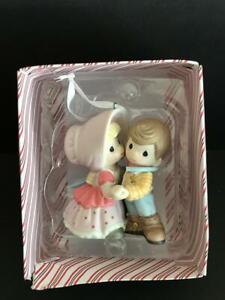 Hallmark Disney Toy Story Woody Bo Peep Porcelain Precious Moments Ornament