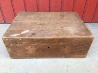 ancienne boite coffret atelier objet métier