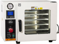 "Ai AT09 110V 0.9 Cu Ft Gas-Filled 12x12x11"" Vacuum Oven with LED Lights UL/CSA"