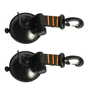 SUP Suction Cup Tie Downs Suction Mount - 2 Pack