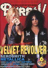 Burrn! Heavy Metal Magazine June 2004 Japan Velvet Revolver Kiss Metallica