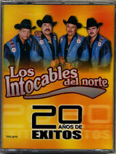 INTOCABLES DEL NORTE * Double CASSETTE  * 20 Años de Exitos * New Sealed TAPE