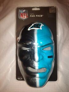 Franklin Sports NFL Team Fan Face Mask Carolina Panthers