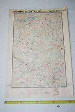 AF1 Carte - Champs de Bataille de l Yser - Sarrebourg