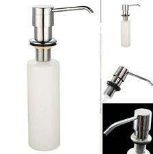 300ML Sink Soap Dispenser Kitchen Stainless Steel Hand Liquid Pump Bottle USA