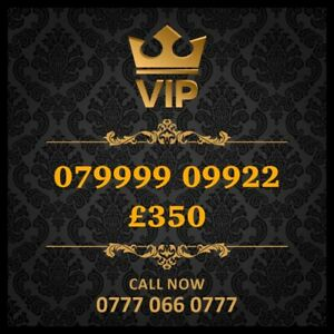 07999909922 Vip Mobile Number Gold Special Cherished UK Easy Mobile Phone Number