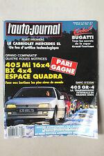 L AUTO JOURNAL - BIMENSUEL N° 4 - 1 MARS 1989 *