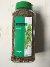 Chef's Larder Thyme 200g, Produced in Belgium, Sprinkle / Spoon Lid