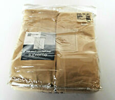 Pinch Pleated Supreme Drape Soft Gold 50x63 JCPenney NOS Curtains Draperies