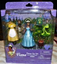 """""""New"""" Disney Parks ~ Tiana Dress Up Mini Playset ~ Princess Frog Prince Naveen"""