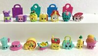 Shopkins Season 8 World Vacation Boarding to Europe Lot of 15 some Rare & 4 Bags