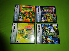 Empty Cases! Ninja Turtles 1 + 2: BattleNexus Nintendo Game Boy Advance GBA