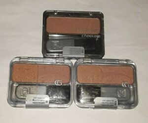 3 blush lot COVERGIRL CHEEKERS BLUSH 130 ICED CAPPUCCINO sealed