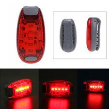 1pc 5LED Licht Bike Rücklicht Sicherheit Warnlampe Jogging Rucksack Laufen Lampe