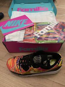 Authentic Nike Air Max 90 Familia Men's 10.5 Wom 12 Multi Color 2021 Release NWT