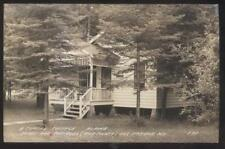 RP Postcard EGG HARBOR Wisconsin/WI  Typical Area Alpine Tourist Cottage 1930's