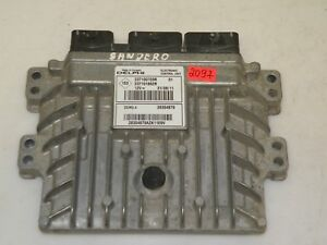 DACIA SANDERO 2012 LHD 1.5DCI ENGINE CONTROL UNIT MODULE ECU 237100703R