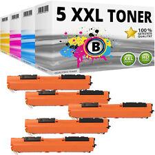 5x XXL TONER PATRONEN für HP 130A LaserJet Pro M176N M177FW Kartusche SET