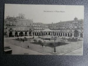 SALAMANCA PLAZA MAYOR POSTAL ANTIGUA